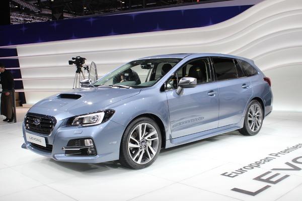 Subaru levorg morte n e en direct du salon de gen ve - Le salon de geneve 2015 ...
