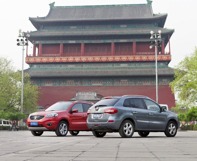 Le Renault Koleos dans les rues de Pékin
