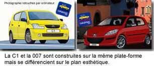 Exclusivité Caradisiac :   Voici la future Citroën C1