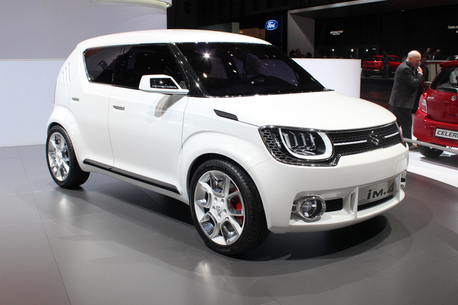 Suzuki IM-4 concept : sympa - En direct du salon de Genève 2015