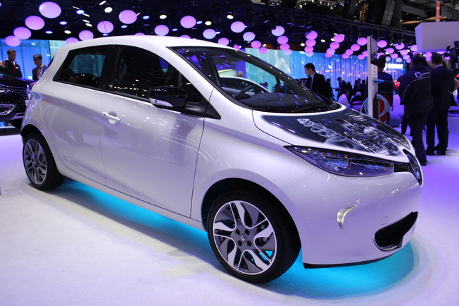 Renault Zoé : plus endurante - En direct du salon de Genève 2015