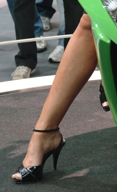 Moto & Sexy : Salon du pied et de la moto 2007
