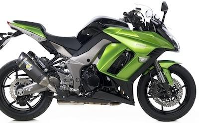 Leo Vince: silencieux Factory R pour la Kawasaki  Z1000SX.