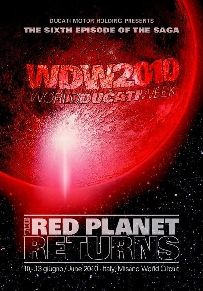 World Ducati Week 2010 : Du 10 au 13 juin 2010 à Misano [+vidéo]