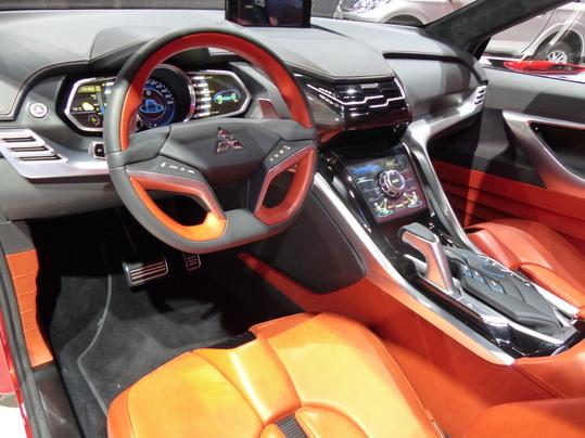 Mitsubishi XR-PHEV II Concept :  SUV compact branché  –  En direct du salon de Genève 2015