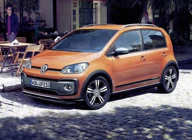 Volkswagen commercialise les Cross Up! et e-Up! restylées