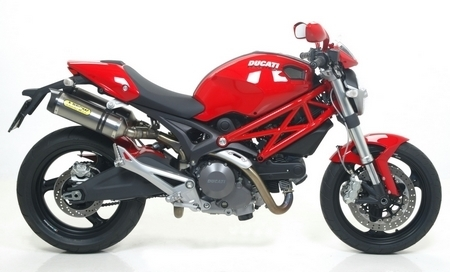 Arrow fait chanter la Ducati Monster 1100