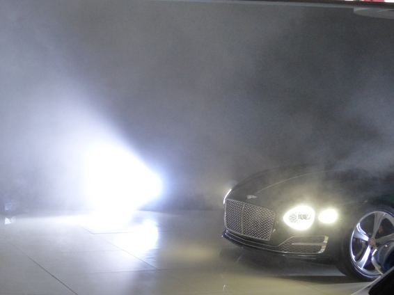 Bentley EXP 10 Concept : vrai coupé sportif  –  En direct du salon de Genève 2015