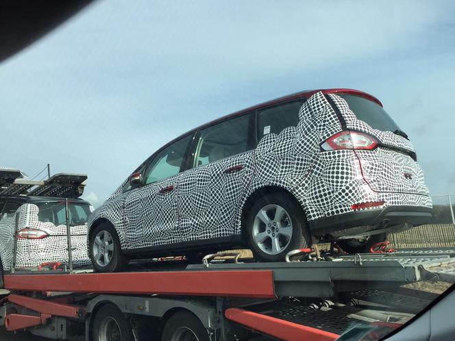 Scoop : le nouveau Ford Galaxy de sortie