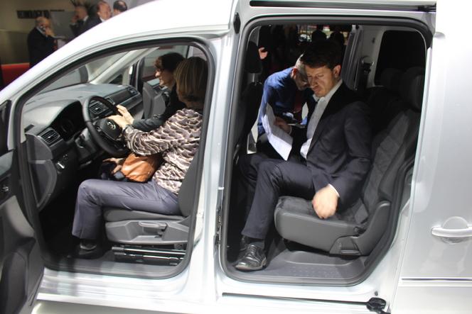 Volkswagen Caddy Maxi : 7 places - En direct du salon de Genève 2015