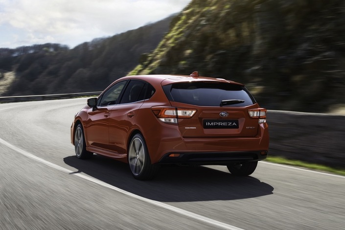 Salon de Francfort 2017 - Nouvelle Subaru Impreza: la discrète