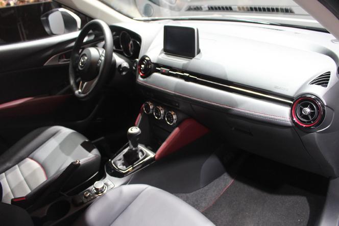 Mazda CX-3 : redoutable - Vidéo en direct du salon de Genève 2015