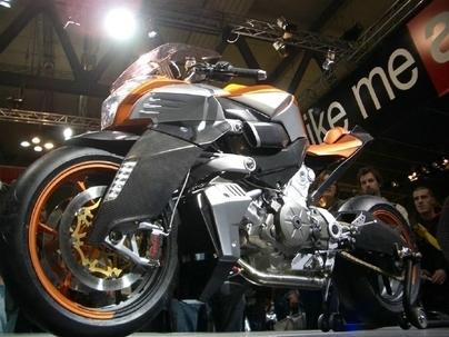 Retour sur un concept 2007 : Aprilia FV2 concept