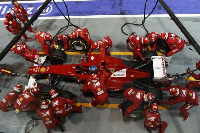 F1 GP de Singapour : Vettel sort tard le soir
