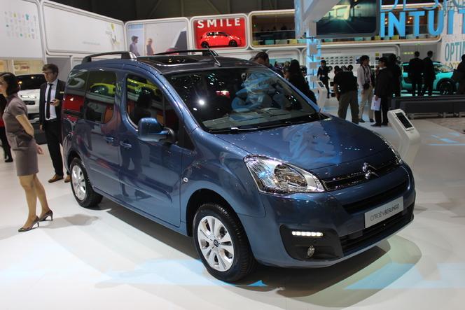 Citroën Berlingo restylé : des changements invisibles - Vidéo en direct du Salon de Genève 2015
