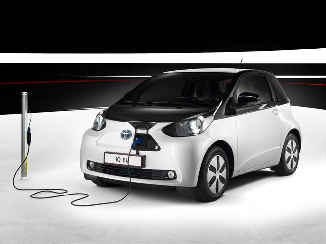 Toutes les nouveautés du Mondial - Toyota IQ EV : électrique