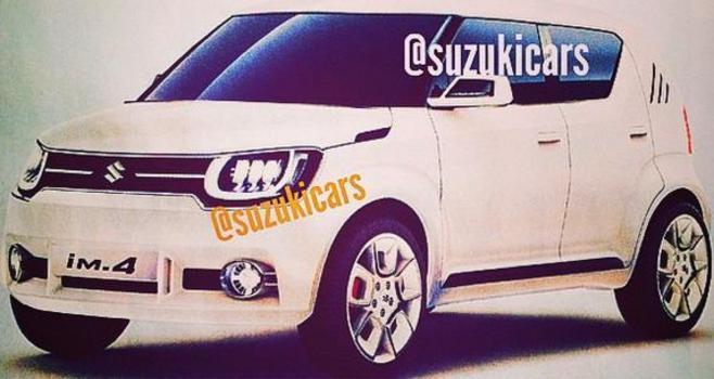 Salon de Genève 2015 - les concepts Suzuki en fuite