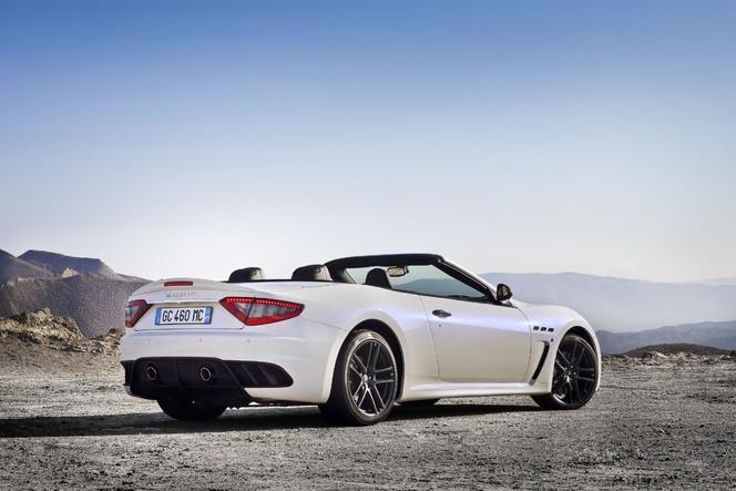 Toutes les nouveautés du Mondial de Paris 2012 - Maserati Gran Cabrio MC : officielle