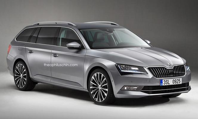 la nouvelle skoda superb imagin e toutes les sauces. Black Bedroom Furniture Sets. Home Design Ideas