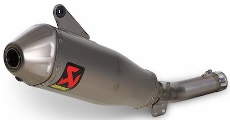 Akrapovic: 3 solutions pour la Yamaha YZ 250F (2014)