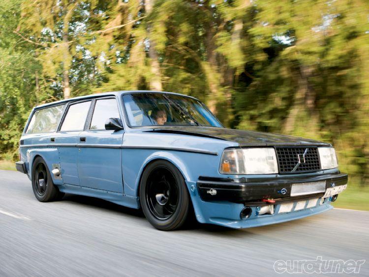 Volvo 245 Dl, le break moche qui arrache
