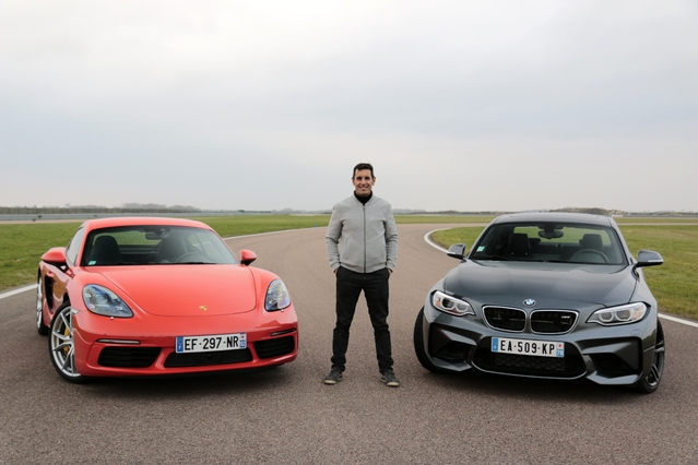 Comparatif vidéo - BMW M2 vs Porsche Cayman S : la course à l'excellence