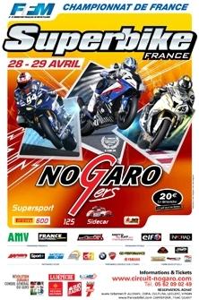SBK France : 2ème épreuve à Nogaro 28 - 29 avril