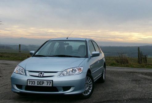 Essai - Honda Civic IMA : roulez propre !