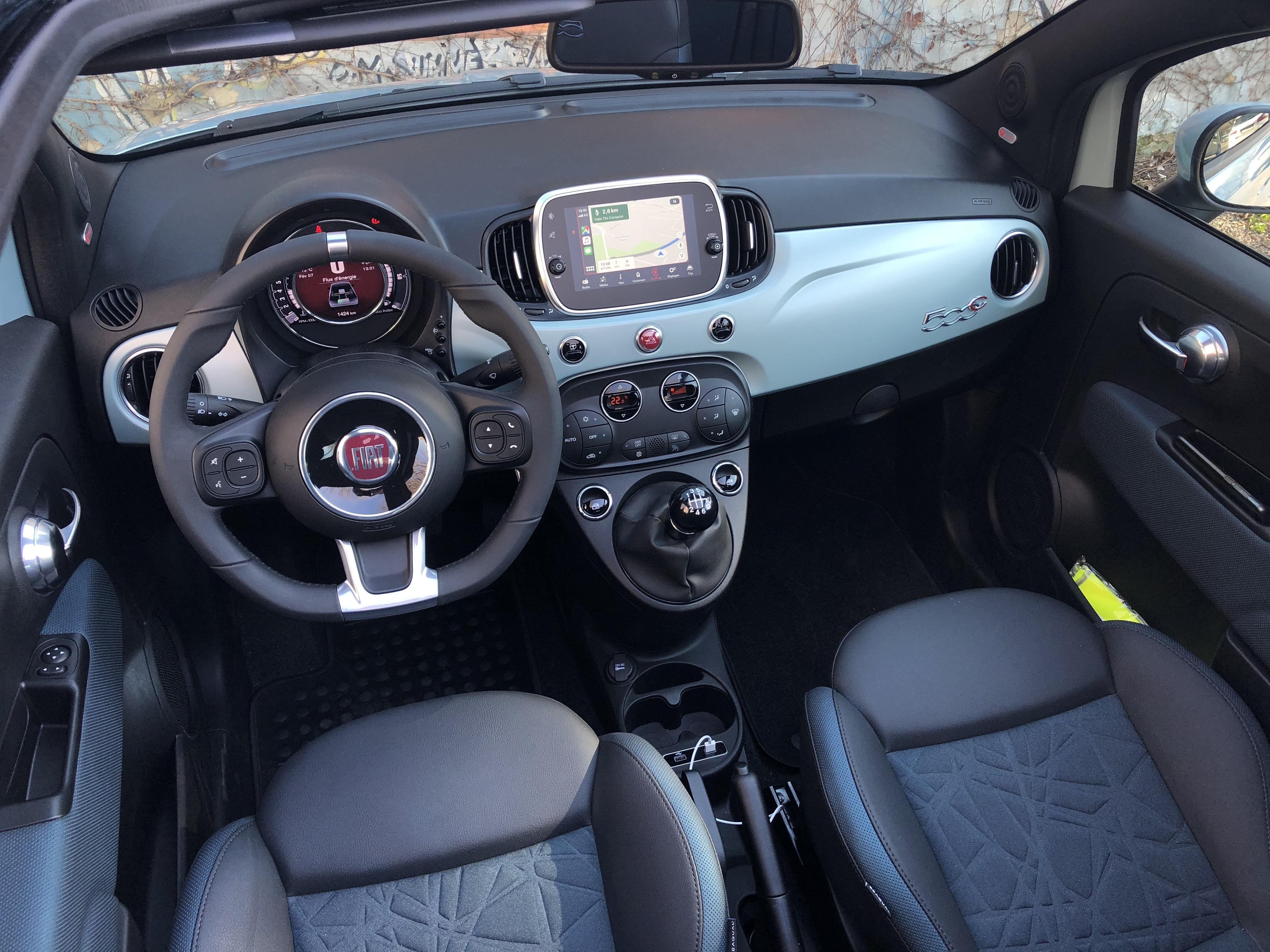 Fiat 500 Hybrid 2020 Branchee Mais Pas Electrique