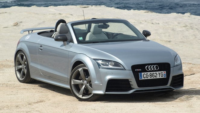 essai vid o audi tt rs plus le chant du cygne. Black Bedroom Furniture Sets. Home Design Ideas