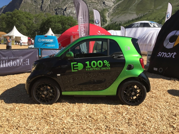 Smart Fortwo Electric Drive - Vidéo en direct du Salon de Val d'Isère 2017