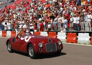 "Ferrari 125 S, ""The Icon""."