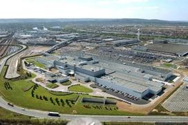L'usine PSA de Poissy, dans les Yvelines.