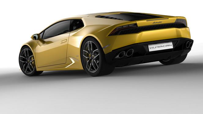 Nouvelles Lamborghini Huracan LP610-4: premières images en fuite