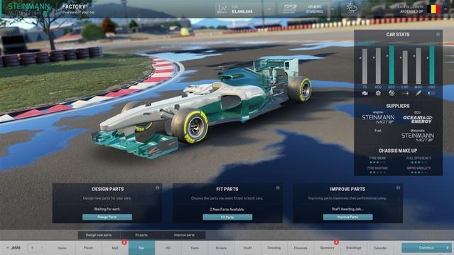 Motorsport Manager PC, diriger une écurie de course c'est maintenant !