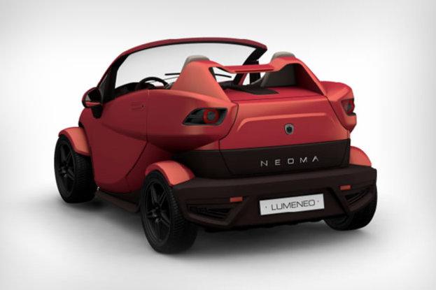 Mondial de Paris 2012 : Lumeneo Neoma Roadster