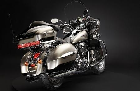 Kawasaki VN 1700 Voyager : 1ère moto compatible avec l'Ipod