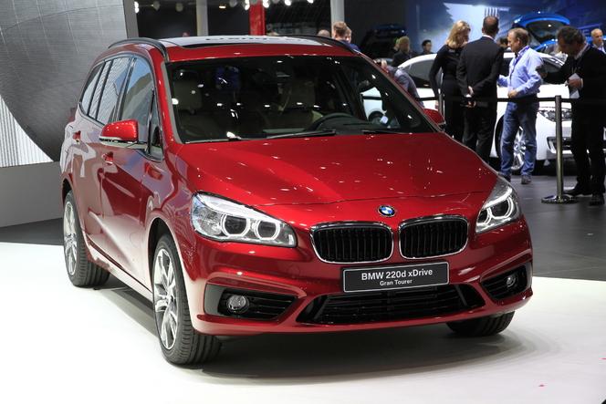 BMW Série 2 Gran Tourer : Active 7 places - Vidéo en direct du salon de Genève 2015