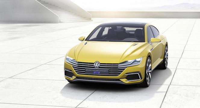 Volkswagen : les premiers détails sur le Sport Coupé Concept GTE