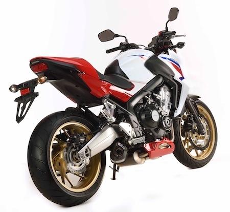 Honda CB650F SP: série spéciale à 500 exemplaires