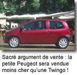 Peugeot prépare une voiture à 8000   euros !