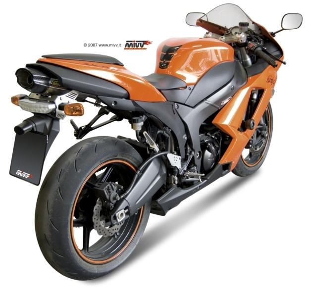 Le Suono de Mivv pour la ZX6-R 2007