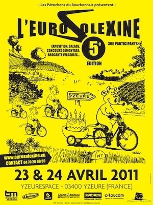 5ème Eurosolexine du 23 au 24 avril 2011.