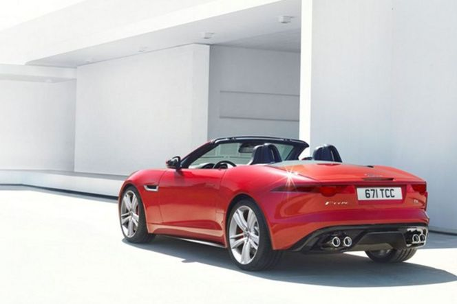 Mondial de Paris 2012 - Jaguar Type F: 1ère photos