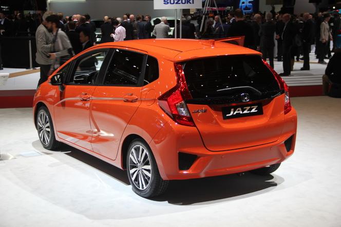 Honda Jazz : toujours aussi futée - Vidéo en direct du salon de Genève 2015