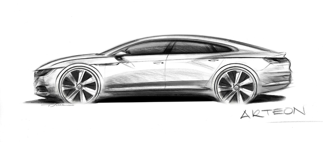 Volkswagen: la remplaçante de la CC s'appellera Arteon