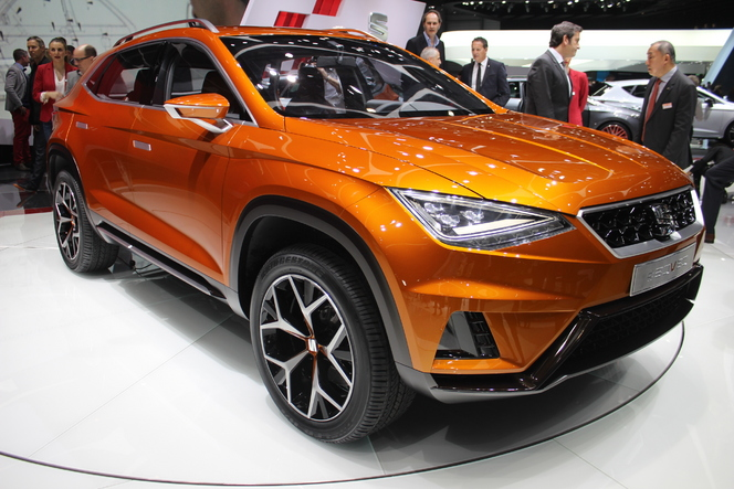 Seat 20v20 son premier suv en direct du salon de for Salon de lyon 2015