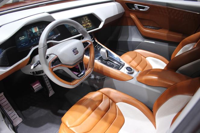Seat 20V20 : son premier SUV - En direct du Salon de Genève 2015