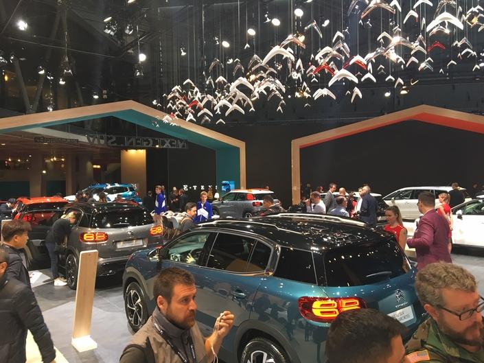 citro n toutes les nouveaut s pr sentes sur le stand en avant premi re mondial de l 39 auto. Black Bedroom Furniture Sets. Home Design Ideas