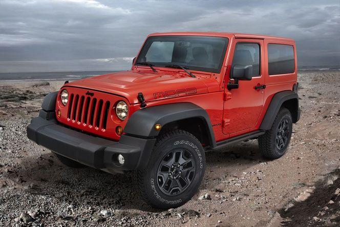 Mondial de Paris 2012 : Jeep Grand Cherokee SRT Limited Edition et Wrangler Moab